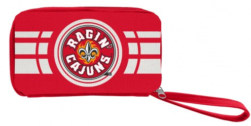 Louisiana Lafayette Ragin' Cajuns Ripple Zip Wallet