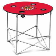 Louisiana Lafayette Ragin' Cajuns Round Folding Table