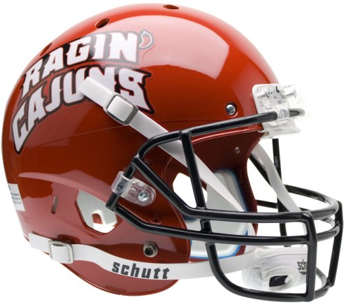 Louisiana Lafayette Ragin' Cajuns Schutt XP Collectible Full Size Football Helmet