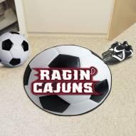 Louisiana Lafayette Ragin' Cajuns Soccer Ball Mat