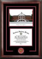 Louisiana Lafayette Ragin' Cajuns Spirit Graduate Diploma Frame