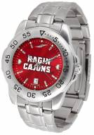Louisiana Lafayette Ragin' Cajuns Sport Steel AnoChrome Men's Watch