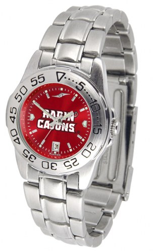Louisiana Lafayette Ragin' Cajuns Sport Steel AnoChrome Women's Watch