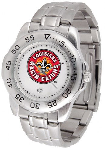 Louisiana Lafayette Ragin' Cajuns Sport Steel Men's Watch