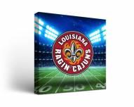 Louisiana Lafayette Ragin' Cajuns Stadium Canvas Wall Art