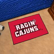 Louisiana Lafayette Ragin' Cajuns Starter Rug