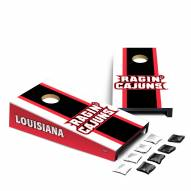 Louisiana Lafayette Ragin' Cajuns Mini Cornhole Set