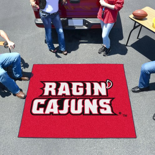 Louisiana Lafayette Ragin' Cajuns Tailgate Mat