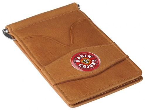 Louisiana Lafayette Ragin' Cajuns Tan Player's Wallet