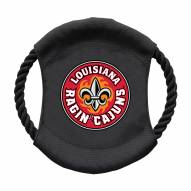 Louisiana Lafayette Ragin' Cajuns Team Frisbee Dog Toy