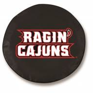 Louisiana Lafayette Ragin' Cajuns Tire Cover