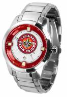 Louisiana Lafayette Ragin' Cajuns Titan Steel Men's Watch