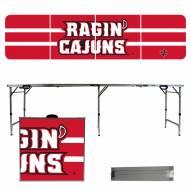 Louisiana Lafayette Ragin' Cajuns Victory Folding Tailgate Table