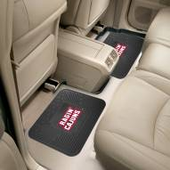 Louisiana Lafayette Ragin' Cajuns Vinyl 2-Piece Rear Floor Mats