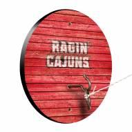 Louisiana Lafayette Ragin' Cajuns Weathered Design Hook & Ring Game