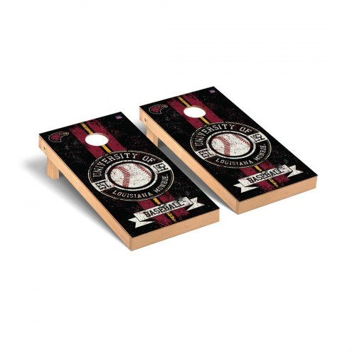 Louisiana Monroe Warhawks Baseball Vintage Cornhole Game Set
