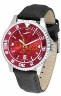 Louisiana-Monroe Warhawks Competitor AnoChrome Men's Watch - Color Bezel