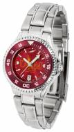 Louisiana-Monroe Warhawks Competitor Steel AnoChrome Women's Watch - Color Bezel