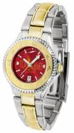 Louisiana-Monroe Warhawks Competitor Two-Tone AnoChrome Women's Watch