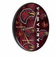 Louisiana-Monroe Warhawks Digitally Printed Wood Clock