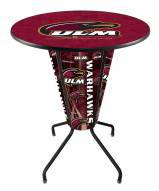 Louisiana-Monroe Warhawks Indoor/Outdoor Lighted Pub Table