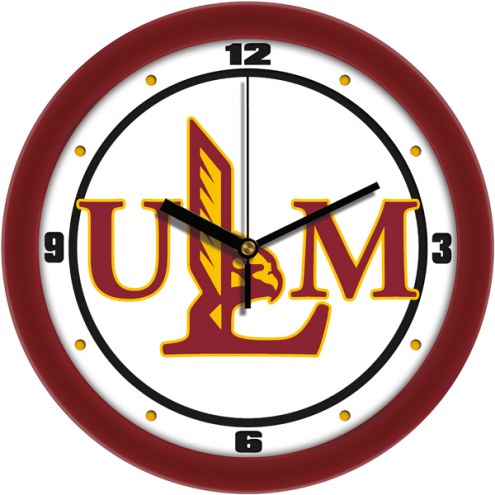 Louisiana-Monroe Warhawks Traditional Wall Clock