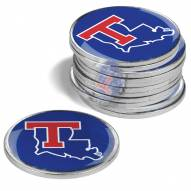 Louisiana Tech Bulldogs 12-Pack Golf Ball Markers