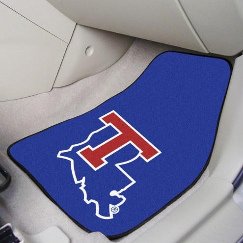 Louisiana Tech Bulldogs 2-Piece Carpet Car Mats
