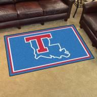 Louisiana Tech Bulldogs 4' x 6' Area Rug