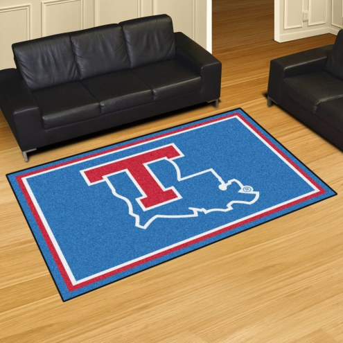 Louisiana Tech Bulldogs 5' x 8' Area Rug