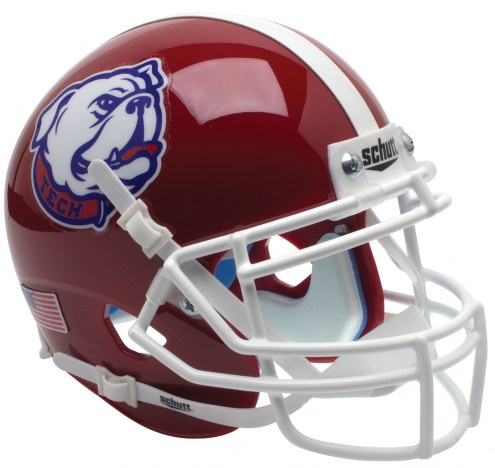 Louisiana Tech Bulldogs Alternate 2 Schutt Mini Football Helmet