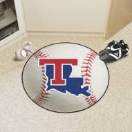 Louisiana Tech Bulldogs Baseball Rug