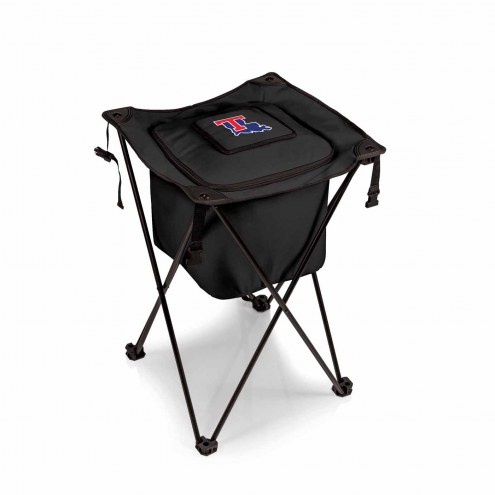 Louisiana Tech Bulldogs Black Sidekick Portable Cooler
