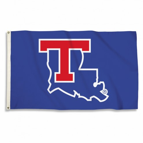 Louisiana Tech Bulldogs Blue 3' x 5' Flag