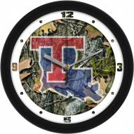 Louisiana Tech Bulldogs Camo Wall Clock