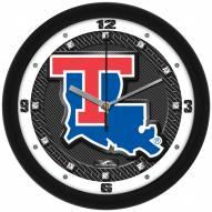 Louisiana Tech Bulldogs Carbon Fiber Wall Clock