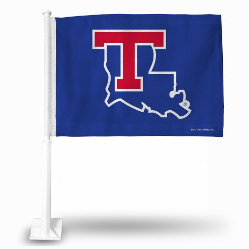 Louisiana Tech Bulldogs College Car Flag