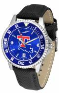 Louisiana Tech Bulldogs Competitor AnoChrome Men's Watch - Color Bezel