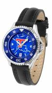 Louisiana Tech Bulldogs Competitor AnoChrome Women's Watch - Color Bezel