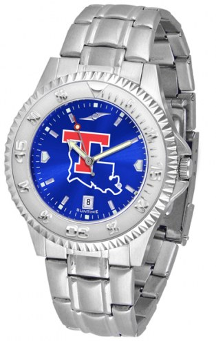 Louisiana Tech Bulldogs Competitor Steel AnoChrome Men's Watch