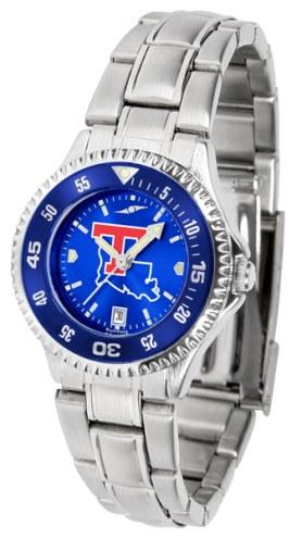 Louisiana Tech Bulldogs Competitor Steel AnoChrome Women's Watch - Color Bezel
