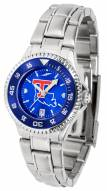 Louisiana Tech Bulldogs Competitor Steel AnoChrome Women's Watch - Color Bezel