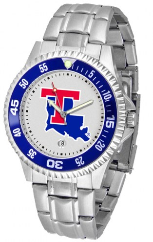 Louisiana Tech Bulldogs Competitor Steel Men's Watch