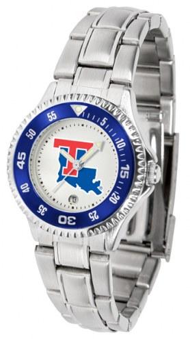 Louisiana Tech Bulldogs Competitor Steel Women's Watch