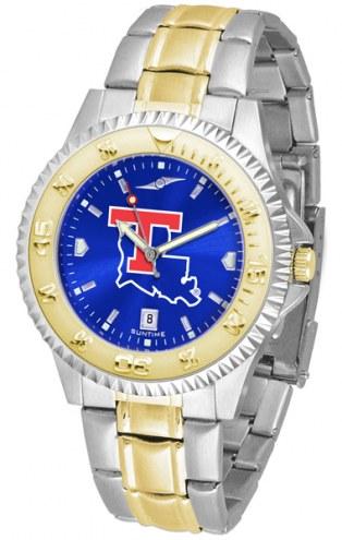 Louisiana Tech Bulldogs Competitor Two-Tone AnoChrome Men's Watch