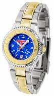 Louisiana Tech Bulldogs Competitor Two-Tone AnoChrome Women's Watch