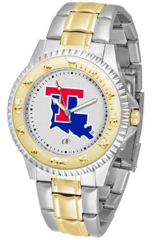 Louisiana Tech Bulldogs Competitor Two-Tone Men's Watch