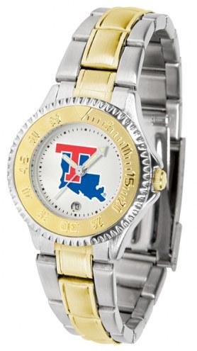 Louisiana Tech Bulldogs Competitor Two-Tone Women's Watch