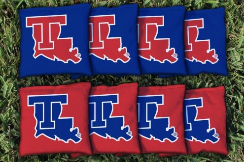 Louisiana Tech Bulldogs Cornhole Bag Set