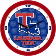 Louisiana Tech Bulldogs Dimension Wall Clock